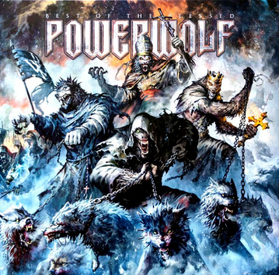 Powerwolf ‎– Best Of The Blessed (2xLP, Limited Edition, Blue)