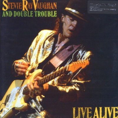 Stevie Ray Vaughan And Double Trouble ‎– Live Alive (2xLP)