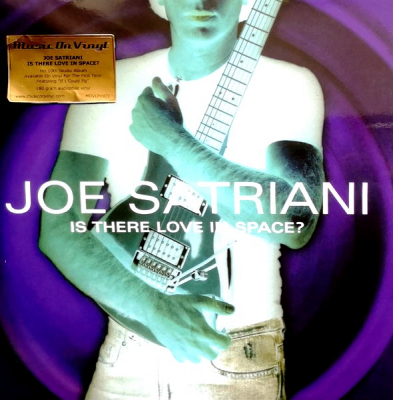 Joe Satriani ‎– Is There Love In Space? (2xLP)