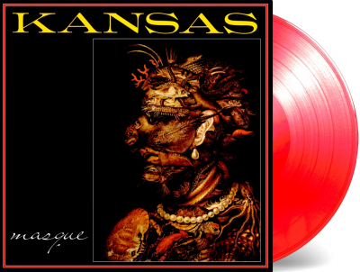 Kansas – Masque (Limited Edition, Numbered, Reissue, Red)