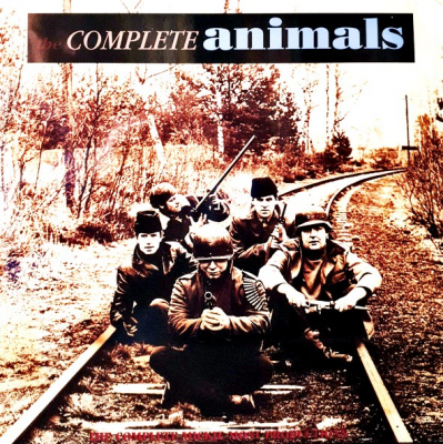 The Animals ‎– The Complete Animals (3xLP, Limited Edition, Blue Translucent, 180 Gram, Gatefold)