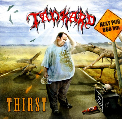 Tankard ‎– Thirst (Limited Edition, Reissue, Red Clear)