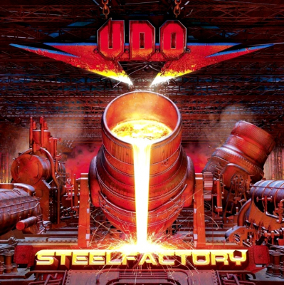 U.D.O. ‎– Steelfactory (2xLP, Limited Edition, White)