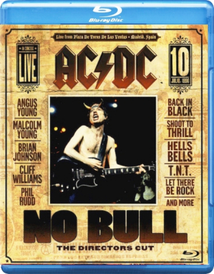 AC/DC ‎– No Bull (The Directors Cut)