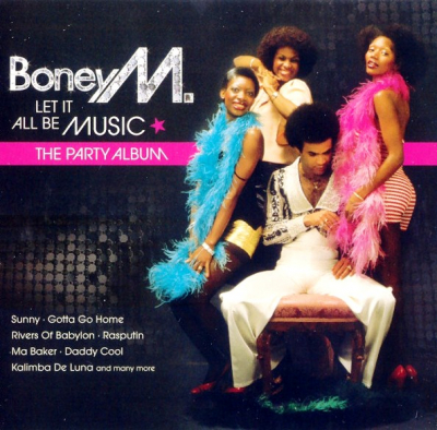 Boney M. ‎– Let It All Be Music - The Party Album (2xCD)