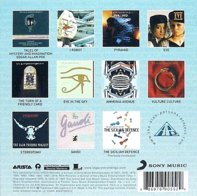 The Alan Parsons Project ‎– The Complete Albums Collection (11xCD, Box Set, Compilation)