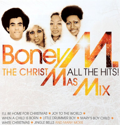 Boney M. ‎– The Christmas Mix (All The Hits!)