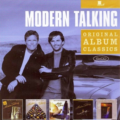 Modern Talking ‎– Original Album Classics (5xCD)