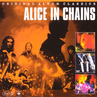 Alice In Chains ‎– Original Album Classics (3xCD)