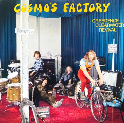 Creedence Clearwater Revival ‎– Cosmo's Factory (2xLP, Mastered At Abbey Road Studios - Half Speed Mastering)