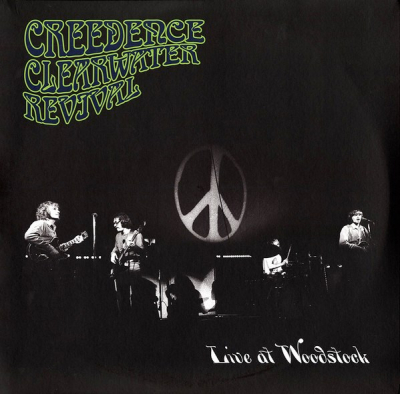 Creedence Clearwater Revival ‎– Live At Woodstock (2xLP)