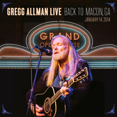Gregg Allman ‎– Live: Back To Macon, GA (2xCD)