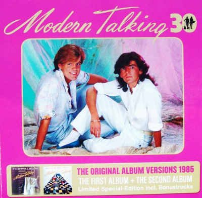 Modern Talking ‎– 30 - The Original Album Versions 1985 (The First Album + The Second Album) (3xCD)