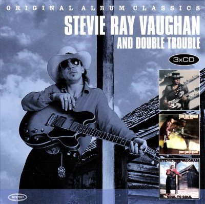Stevie Ray Vaughan And Double Trouble ‎– Original Album Classics (3xCD)
