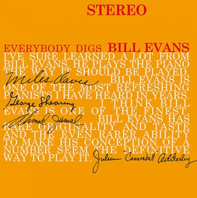 Bill Evans Trio ‎– Everybody Digs Bill Evans