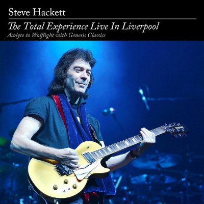Steve Hackett ‎– The Total Experience Live In Liverpool (Acolyte To Wolflight With Genesis Classics) (2xCD+2xDVD, Deluxe Edition)