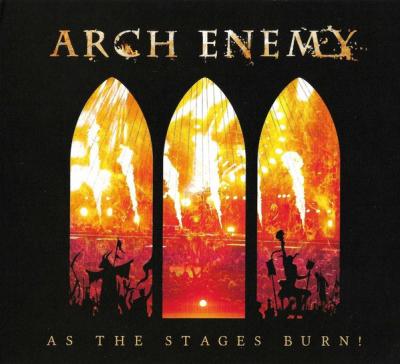 Arch Enemy ‎– As The Stages Burn! (CD+DVD) (Упаковка Digipack)