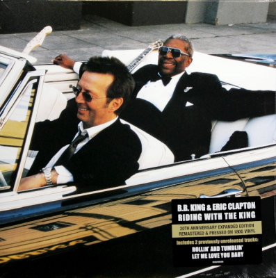 B.B. King & Eric Clapton ‎– Riding With The King (2xLP, Remastered, Blue, 180 Gram, Gatefold)