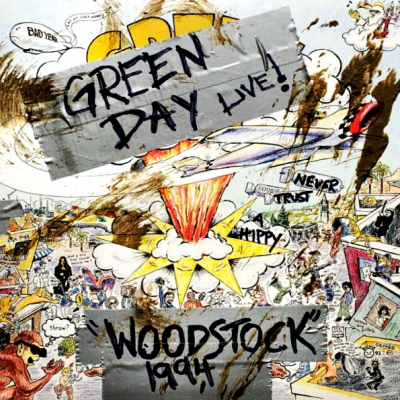 Green Day ‎– Woodstock 1994