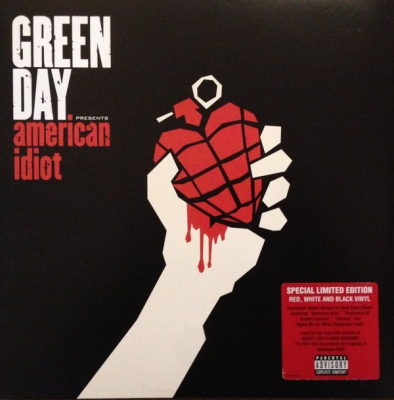 Green Day ‎– American Idiot (2xLP, Special Edition, Red & Black Swirl, White & Black Swirl