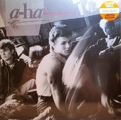 A-Ha ‎– Hunting High And Low (Clear)