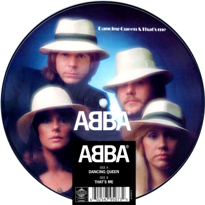 ABBA ‎– Dancing Queen & That's Me (Vinyl, 7