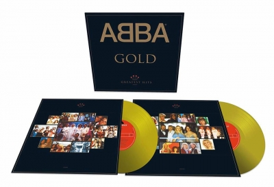ABBA ‎– Gold (Greatest Hits) (2xLP) (Gold Vinyl)