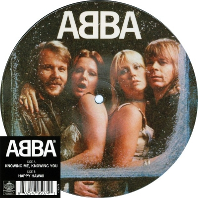 ABBA ‎– Knowing Me, Knowing You (Vinyl, 7