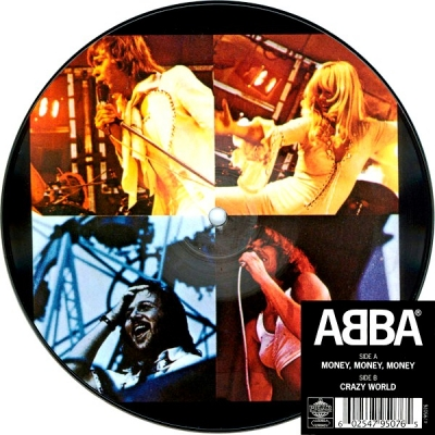 ABBA ‎– Money, Money, Money (Vinyl, 7