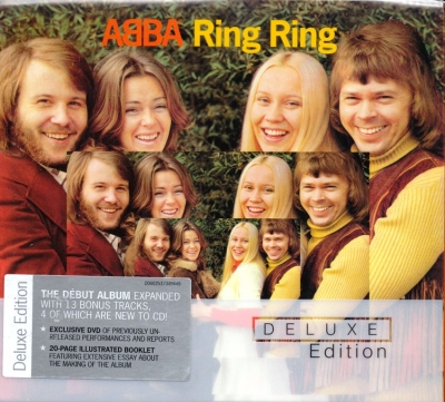 ABBA ‎– Ring Ring (CD+DVD) (Deluxe Edition)