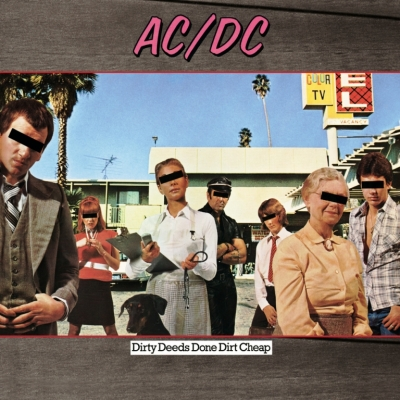 AC/DC ‎– Dirty Deeds Done Dirt Cheap