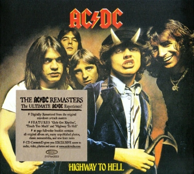 AC/DC ‎– Highway To Hell (Упаковка Digipack)