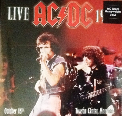 AC/DC ‎– Live 1979 - Towson Center, Maryland (2xLP)