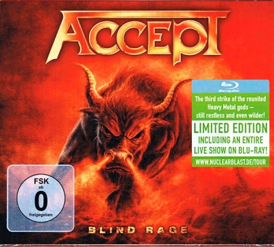 Accept ‎– Blind Rage (CD, Blu-Ray)