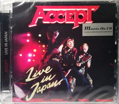 Accept ‎– Live In Japan