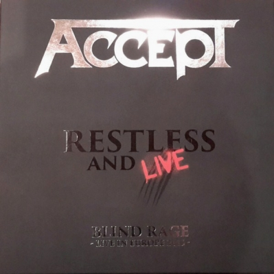 Accept ‎– Restless And Live (Blind Rage - Live In Europe 2015) (4xLP)