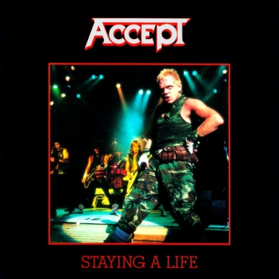Accept ‎– Staying A Life (2xCD)