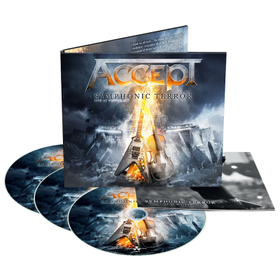 Accept ‎– Symphonic Terror - Live At Wacken 2017 (2xCD+DVD)