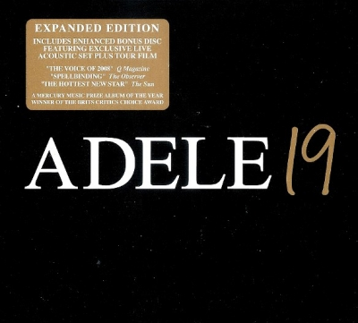Adele ‎– 19 (2xCD, Expanded Edition)