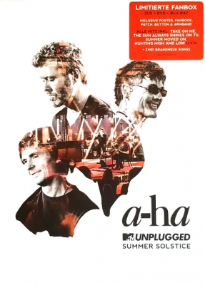 A-Ha ‎– MTV Unplugged (Summer Solstice) (2xCD, Blu-ray, DVD-Video)