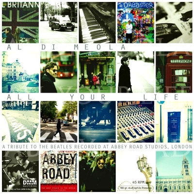 Al Di Meola ‎– All Your Life - A Tribute To The Beatles Recorded At Abbey Road Studios, London (2xLP)