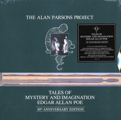 The Alan Parsons Project ‎– Tales Of Mystery And Imagination Edgar Allan Poe (2xLP, 3xCD, Blu-ray Audio) (Deluxe Edition)