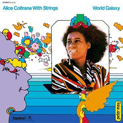 Alice Coltrane With Strings ‎– World Galaxy