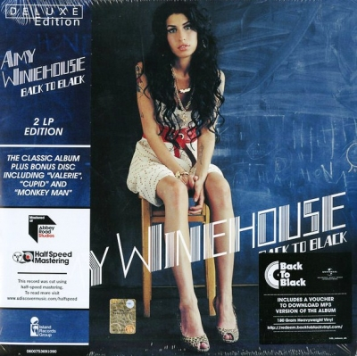 Amy Winehouse ‎– Back To Black (2xLP) (Mastered At Abbey Road Studios - Half Speed Mastering)