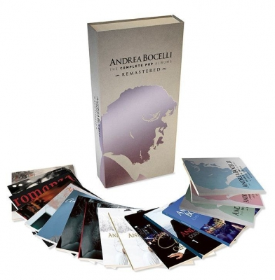 Andrea Bocelli - The Complete Pop Album (16xCD) (Boxset Deluxe Edition)