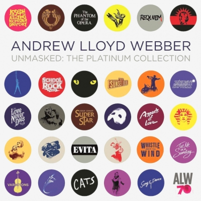 Andrew Lloyd Webber ‎– Unmasked - The Platinum Collection (5xLP)