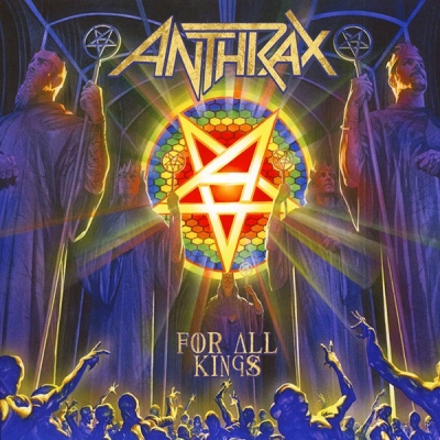 Anthrax ‎– For All Kings (1LP+1LP Single Sided)