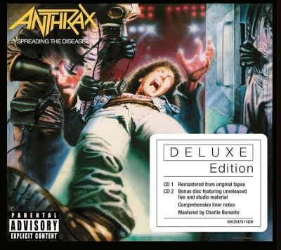 Anthrax ‎– Spreading The Disease (2xCD, Deluxe Edition)
