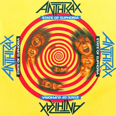 Anthrax ‎– State Of Euphoria (2xLP)
