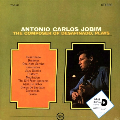Antonio Carlos Jobim ‎– The Composer Of Desafinado, Plays